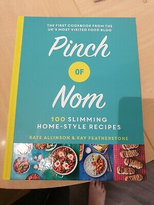 pinch of nom cook book , never been used Hard back