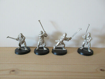 Games Workshop Citadel Lord of the Rings Lotr Uruk-Hai Berserkers Metal