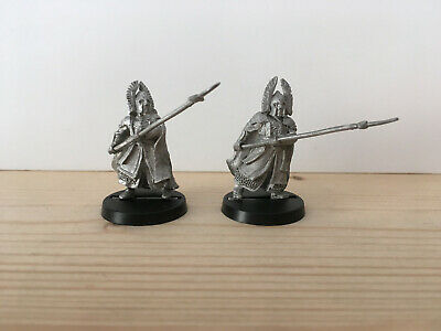 Games Workshop Citadel Lord of the Rings Lotr Guards of the Fountain Court Metal