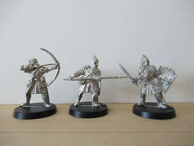 Games Workshop Citadel Lord of the Rings Lotr Osgiliath Veterans Metal