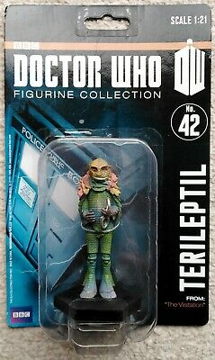 Part #162 THE THIJARIANS Eaglemoss BBC Doctor Who Figurine Collection Cult TV