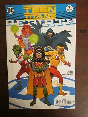 Teen Titans #4A Meyers Variant VF 2017 Stock Image