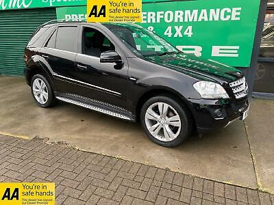 2011 MERCEDES M Class ML350 CDi BlueEFFICIENCY SPORT Auto SUV Diesel Automatic