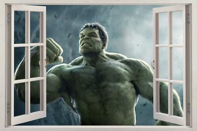 Hulk The Avengers 3D Window Decal Wall Sticker Home Decor Art Mural Marvel H736