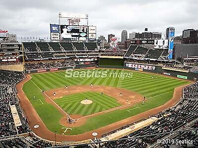 1 to 10 Tickets Minnesota Twins vs. Cleveland Indians 04/08