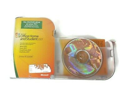Microsoft OFFICE HOME and STUDENT 2007 & PRODUCT KEY
