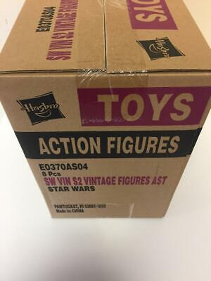 "Star Wars 3.75"" Vintage Collection Sealed Case of 8 Figures E0370AS04"