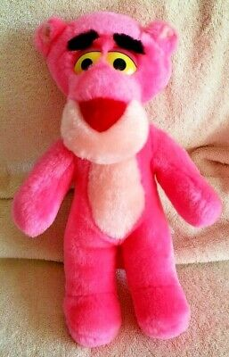 """Pink Panther 11"""" Plush Toy Vintage 1992 United Artists 24K Company Collectible"""