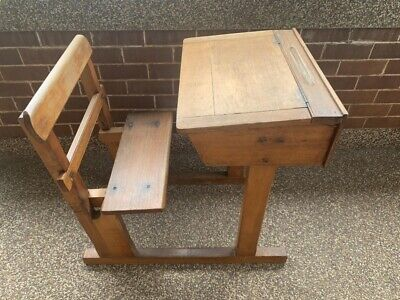 Vintage / Retro / Antique School Desk