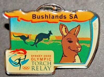 Olympic Games  Sydney 2000 - Torch Relay- Bushlands South Australia  Pin / badge