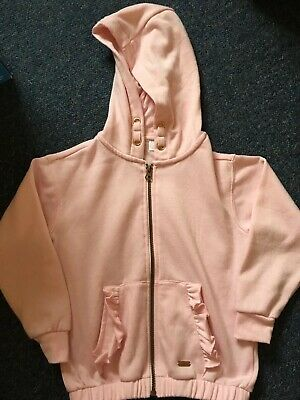 Pink F & F Age 6-7 Zip Up Jacket Pretty