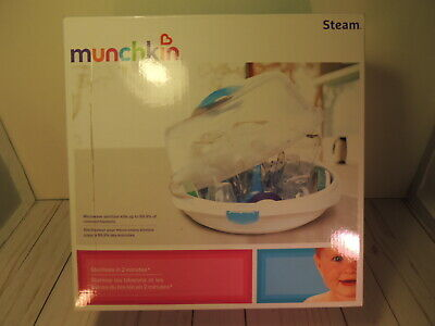 Munchkin Steam Guard Microwave Baby Bottle Sterilizer