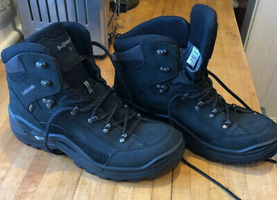 Lowa Renegade GTX Mid Men Gore-Tex Outdoor Hiking Chaussures Gris Bleu 310945-9449