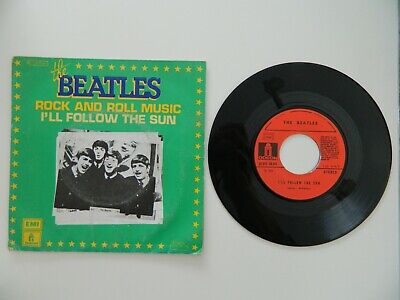 Disque 45 tours The Beatles-Rock and Roll Music 2C01004461
