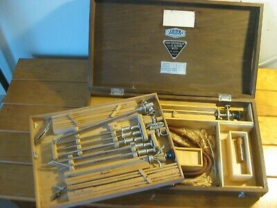 Antique Medical Cysto-Urethroscop Set (Surgical Tools ) J. LEITER Wien (AUSTRIA)