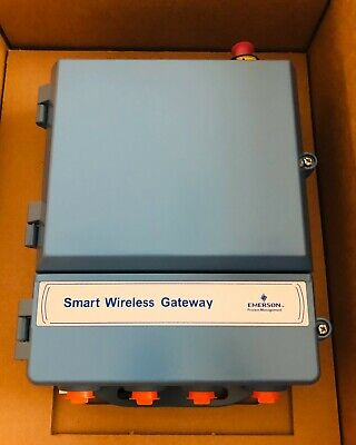 Emerson 1420 Smart Wireless Gateway New Old Stock!