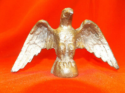 Vintage Cast Brass EAGLE FINIAL FLAG POLE TOPPER or architectural top