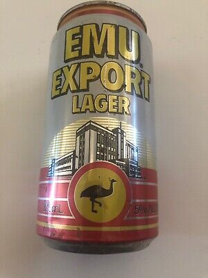 Collectable Emu Export LagerBeer Can 375ml