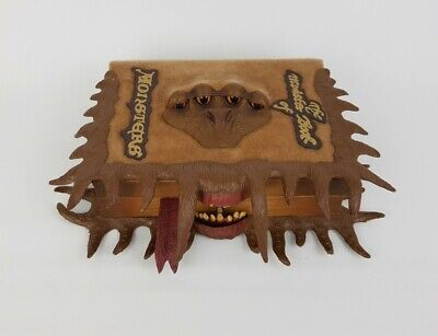 Harry Potter The Monster Book Of Monsters Tomy 2010 Interactive Keep Safe Box