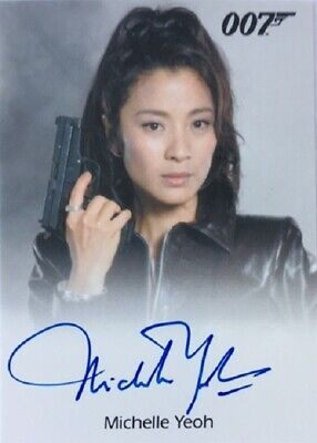 Michelle Yeoh Autograph as Wai Lin from James Bond Archives Final Edition
