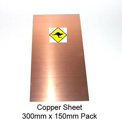 Copper Sheet 1 mm (110) 15cm x 30cm