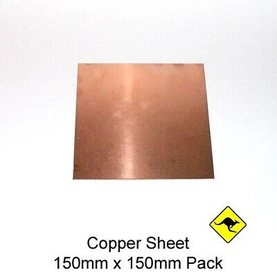 Copper Sheet 0.7 mm (110) 15 cm x 15 cm bulk offers