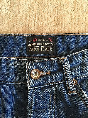 Zara Boys/ Men's Jeans Size UK31, EUR 40 AGE 12-14