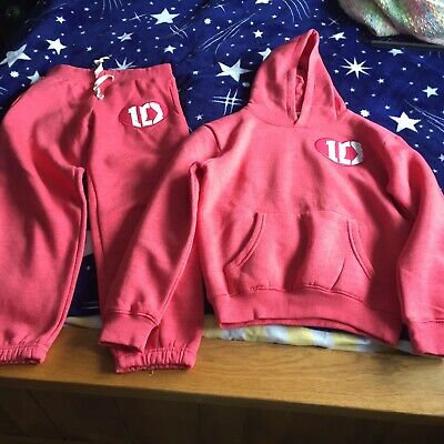 Girls One Direction Tracksuit Size 11-12 Years