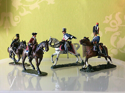 choice of four Russian, British and French Del Prado soldiers