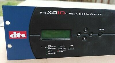 DTS XD-10  Cinema Media Player - FOR PARTS - Sell as is