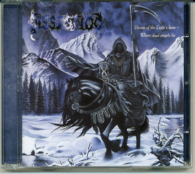 """Dissection """"Storm Of The Light's Bane / Where Dead Angels Lie"""" 1995, CD"""