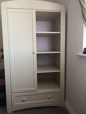 Ex Toys R Us Solid Wood Wardrobe Ideal For Kids Bedroom RPR £399