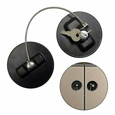 2 Pices Child Safety Lock, Haploon Black Child Safety Lock Window Lock Baby