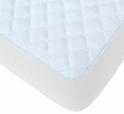 BlueSnail Waterproof Quilted Pack N Play Mattress Cover - Fits All Baby (white)