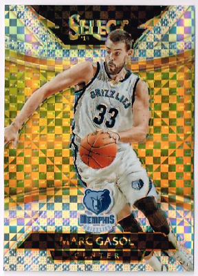 Marc Gasol NBA Memphis Grizzlies Strideline Player Crew Socks Marc Gasol