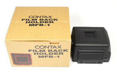 Contax Film Back Holder MFB-1 **MINT** Condition