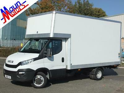 Iveco Daily 35C13, 126PS, LUTON BOX VAN with SlimJim TAIL LIFT, LWB, 1 Owner,
