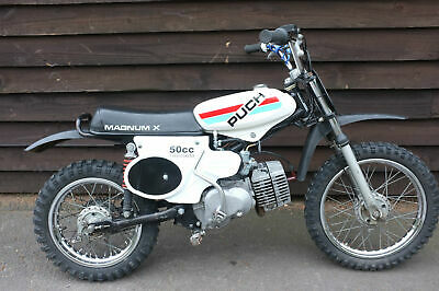 Puch Magnum X 1974 amazing used condition. Runs and rides