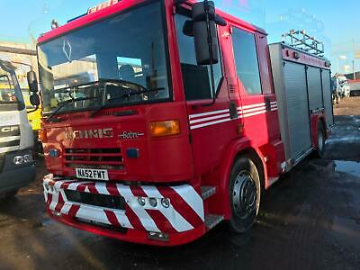 .Dennis And Mercedes Fire Trucks In Stock..sale Now On Ask For Details..