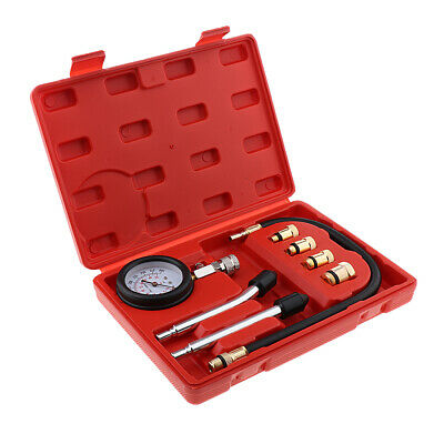 Automotive Car Van Petrol Engine Metric Imperial Compression Tester Kit
