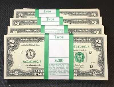 5 New Uncirculated $10 Bills from BEP Packs