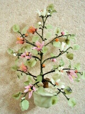 Chinese glass BONSAI tree -flower tree