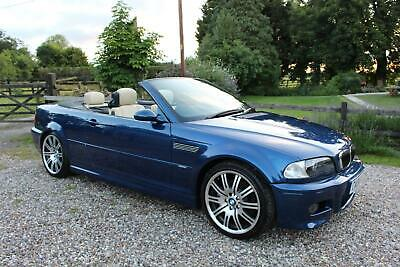2004 BMW M3 M3 3.2 CONVERTIBLE 2dr MANUAL E46 WARRANTIED LOW MILEAGE FSH CONVERT