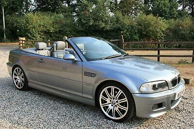 2004 BMW M3 3.2 CONVERTIBLE MANUAL E46 WARRANTIED LOW MILEAGE CONVERTIBLE Petrol