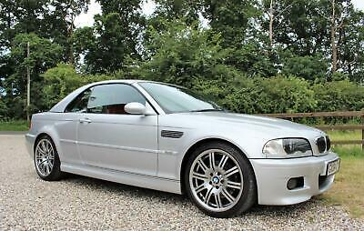 2004 BMW M3 3.2 CONVERTIBLE MANUAL E46 WARRANTIED LOW MILEAGE FSH CONVERTIBLE Pe