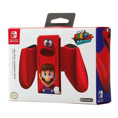 Nintendo Switch Super Mario Odyssey Joy-Con Comfort Grip NEW