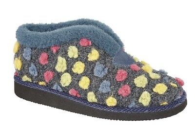 Multi Textile Sleepers Femmes Multicolore Tilly Chaussons Pantoufles Fuchsia