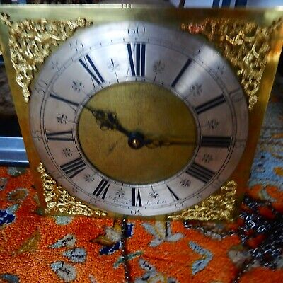 JOSEPH WINDMILLS RARE 30 Hour Long Case Clock only 7 known