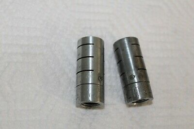 "2 Quietaire Pneumatic Silencers 1/4"" Female NPT 3/4"" Dia 2"" Long"