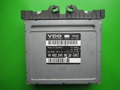 Mercedes W210 E200 W202 C200 0215459832 Engine Control Unit ECU MSE HM MSG